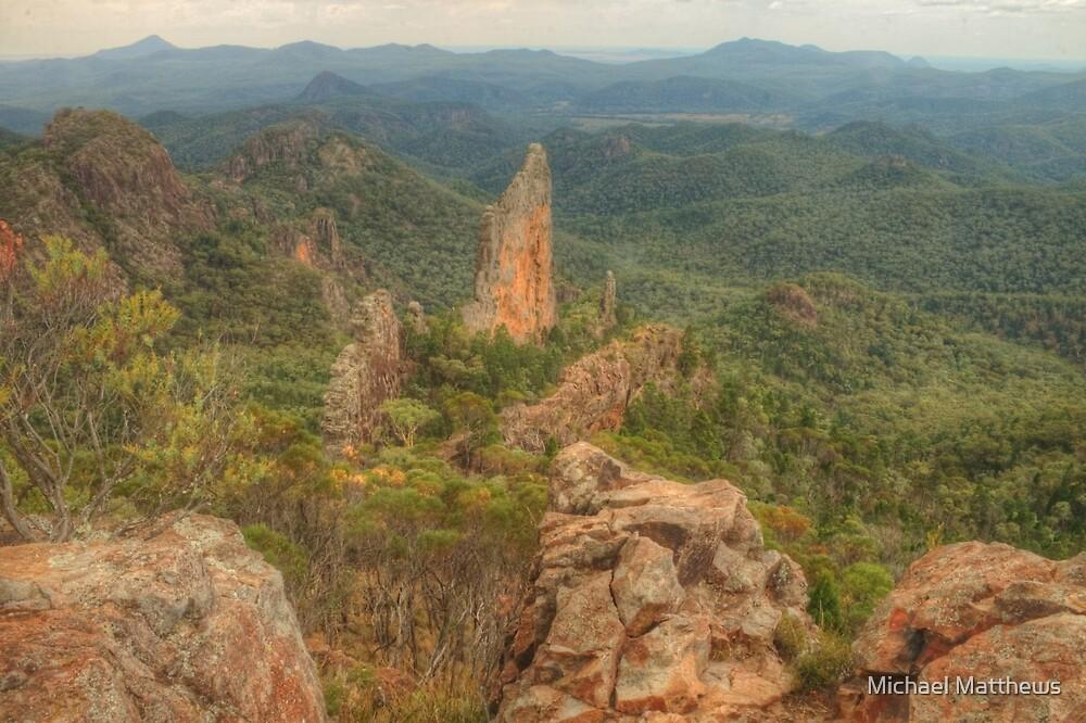 Rocky volcanic landscape by Michael Matthews