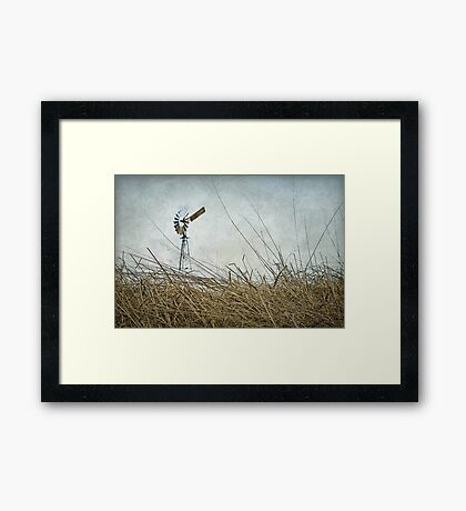 Mill on the Downs Framed Print