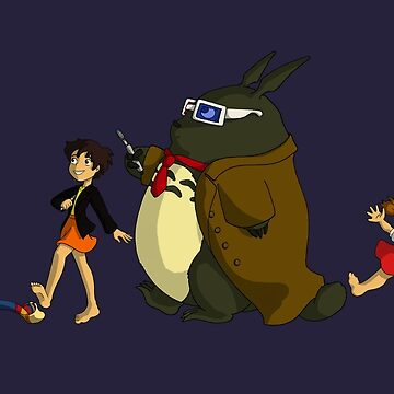 Doctor Totoro by thedustyphoenix
