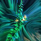 Canada Lily in a Storm by Wayne King
