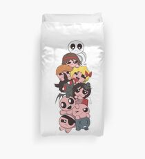 The Binding of Isaac characters Duvet Cover