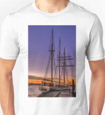 Tall Ship Mystic Unisex T-Shirt