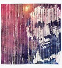 President Abraham Lincoln Abstract Poster