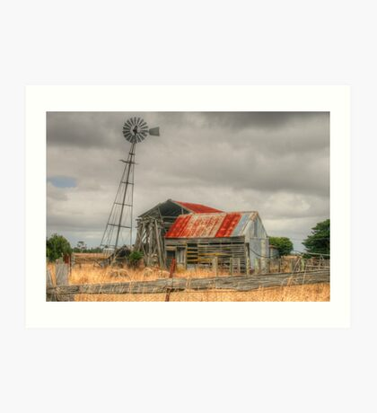 Country Gold Art Print