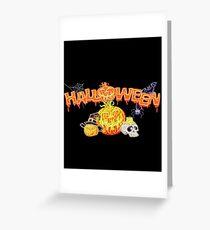 Haunted Halloween Greeting Card