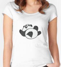 Tumbling Panda Bear Women's Fitted Scoop T-Shirt