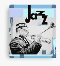 Dizz Jazz Canvas Print