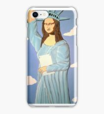 THE STATUE OF LIBERTY 2000 iPhone Case/Skin