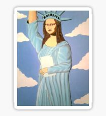 THE STATUE OF LIBERTY 2000 Sticker