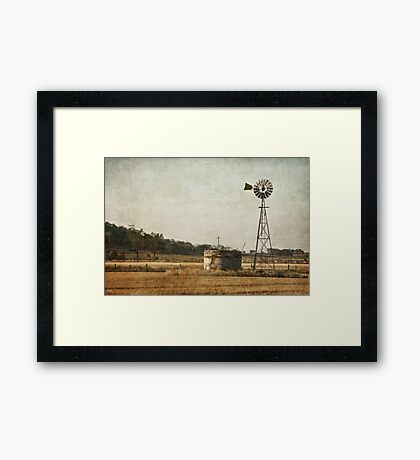 late in the day Framed Print