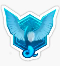 Team Mystic Logo Enhanced Sticker