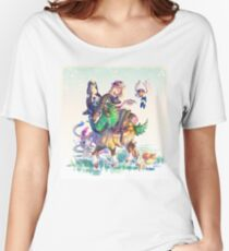 Pokemon X & Y - New Start Women's Relaxed Fit T-Shirt