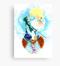Zelda - Skyward Canvas Print