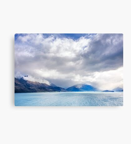 Clouds Descend the Tooth Peaks (near Glenorchy, NZ) Canvas Print