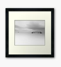 Bridge to Nowhere Framed Print
