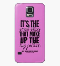 Small Steps Big Picture Black Text T-shirts & Homewares Case/Skin for Samsung Galaxy