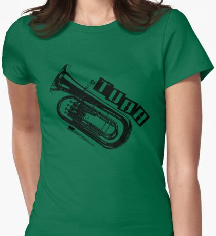 Label Me A Tuba (Black Lettering T-Shirt