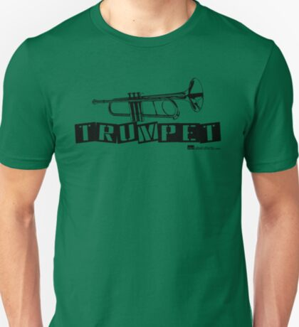 Label Me A Trumpet (Black Lettering) T-Shirt
