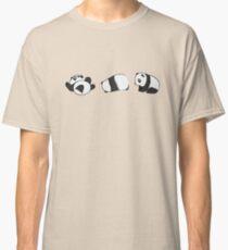 Tumbling Panda Bears (SET) Classic T-Shirt