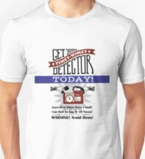 The Timey-Wimey Detector Unisex T-Shirt