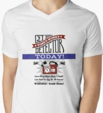The Timey-Wimey Detector Men's V-Neck T-Shirt