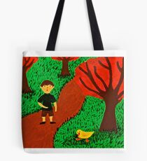 Ethan and the Duck Tote Bag