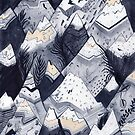 Mountains by Sandra Dieckmann