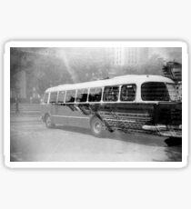 Warsaw Bus Sticker