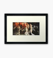 Autumn forests Framed Print