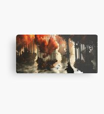 Autumn forests Metal Print