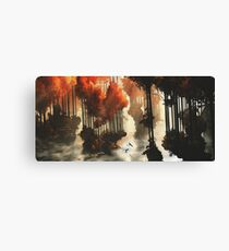 Autumn forests Canvas Print