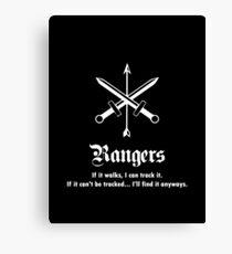 Rangers Canvas Print