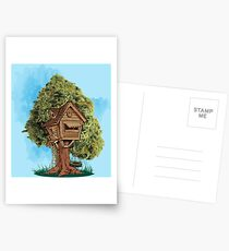 Tree House  Postcards