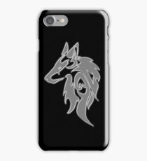 Wolfpack Silver iPhone Case/Skin