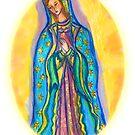 Virgin Mary by mandafabienne