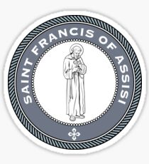 ST FRANCIS OF ASSISI Sticker