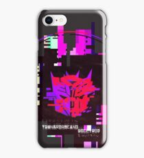 Double Badge Glitch (v.1) iPhone Case/Skin