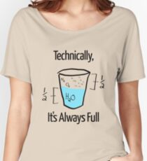 Science is Optimistic Women's Relaxed Fit T-Shirt