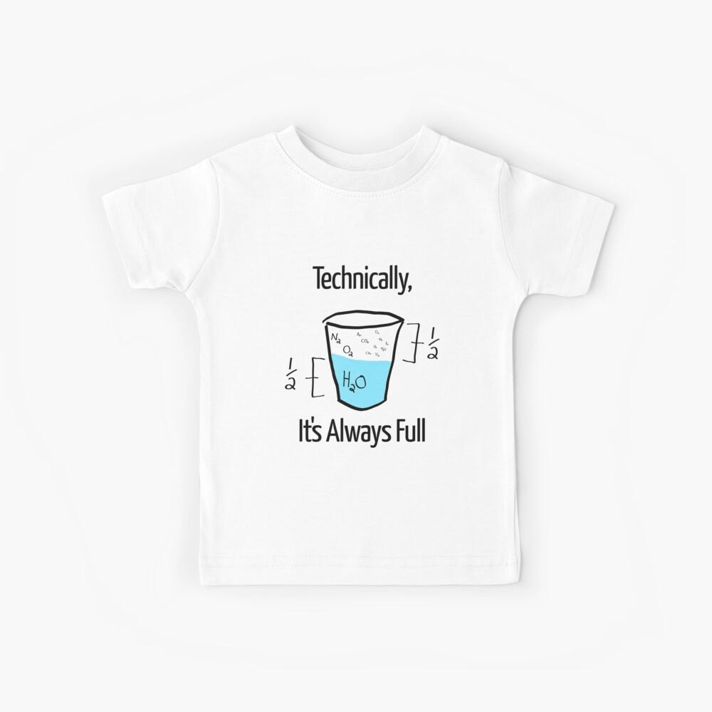 Die Wissenschaft ist optimistisch Kinder T-Shirt