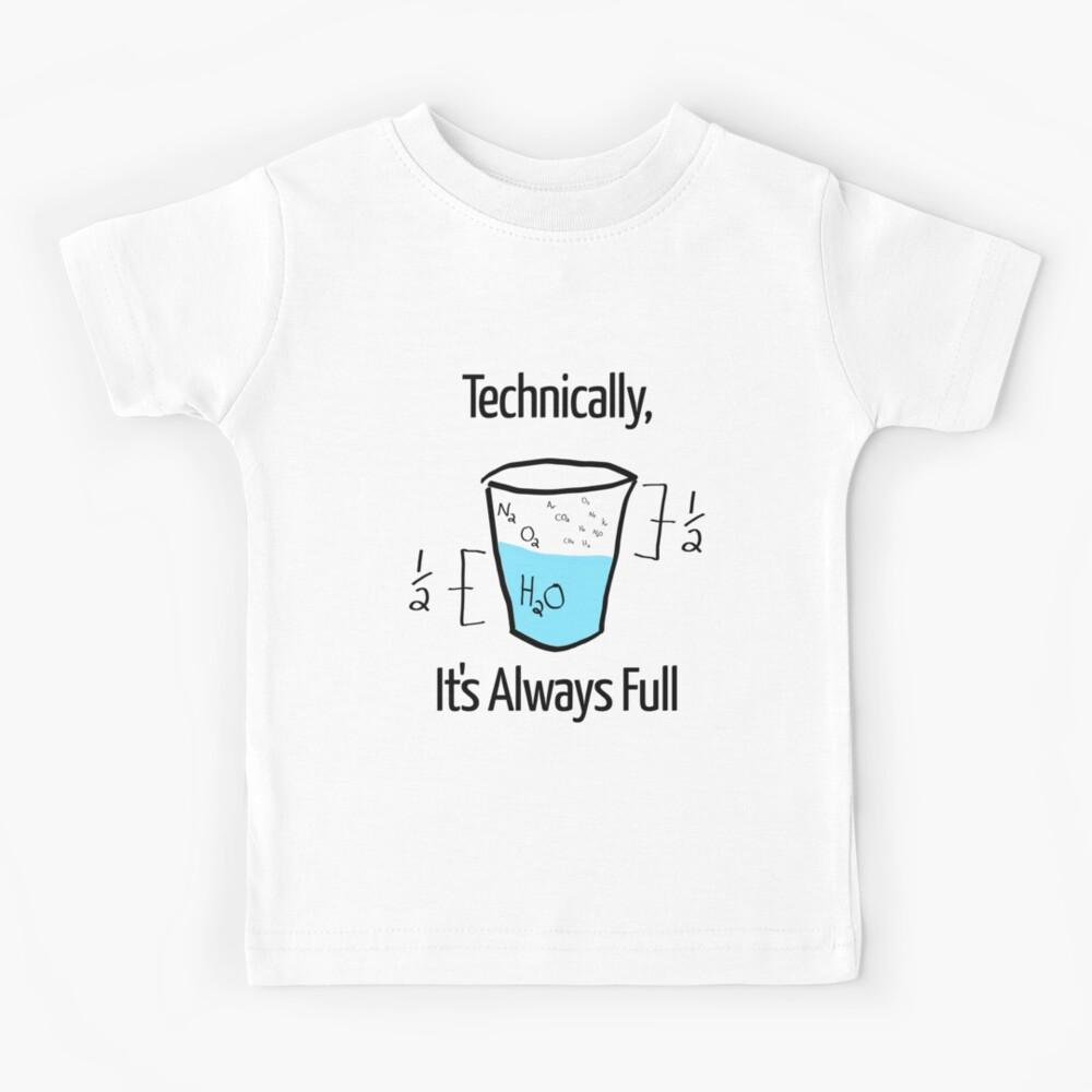 Science is Optimistic Kids T-Shirt