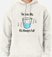 Sudadera con capucha La ciencia es optimista