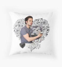 Sebastian Stan Throw Pillow