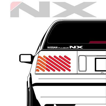 Nissan NX Pulsar Sportback - White by SEZGFX