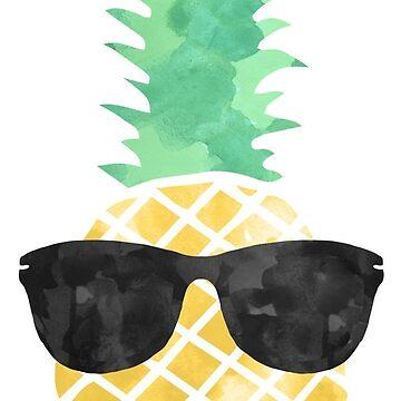 Gafas de sol Piña de kayceedesigns