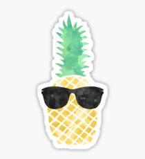 Sonnenbrille Ananas Sticker