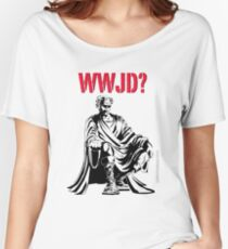 WWJD? Women's Relaxed Fit T-Shirt