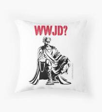 WWJD? Throw Pillow