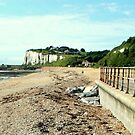 Kingsdown - The Beach & Cliffs by rsangsterkelly