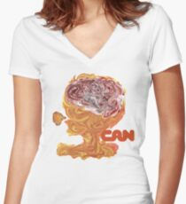 Can - Tago Mago Women's Fitted V-Neck T-Shirt