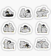 baby penguin print Sticker